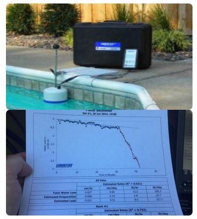 Fuite piscine expert en recherche et d tection des fuites - Calcul chauffage piscine ...