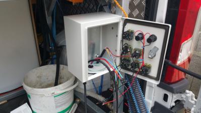 Câblage du tableau électrique