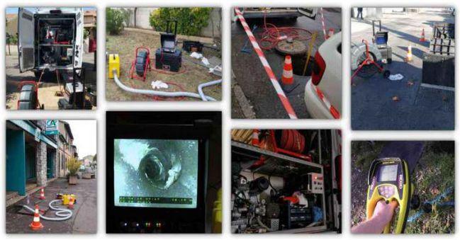 Daignostic de canalisation et réseaux d'assainissement entreprise forman 4