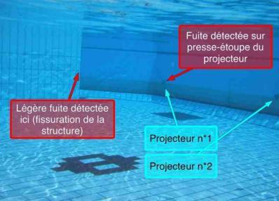 recherche de tous types de fuites sur piscine toulouse 31. Black Bedroom Furniture Sets. Home Design Ideas