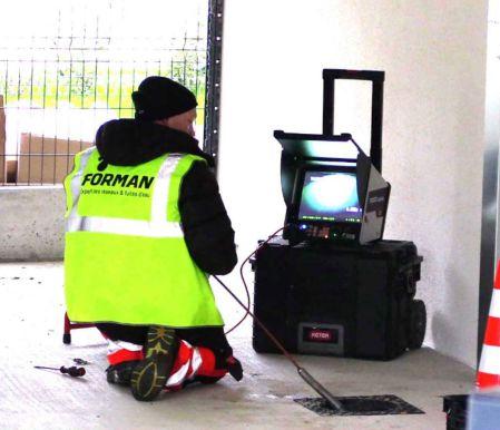Inspection video de reseaux