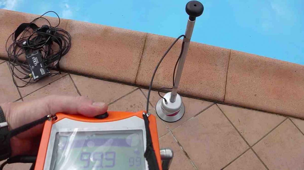D tection de fuites - Fuite d eau piscine creusee ...