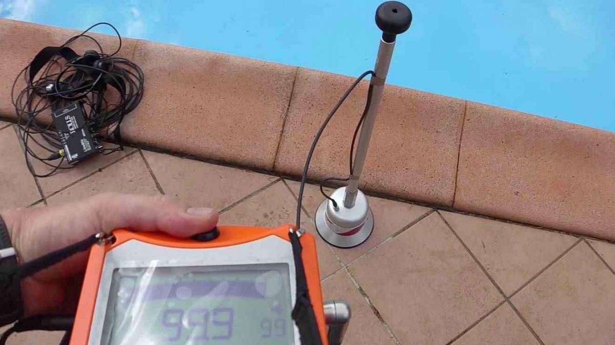 recherche de fuite piscine aquaphon - Colorant Fuite Piscine