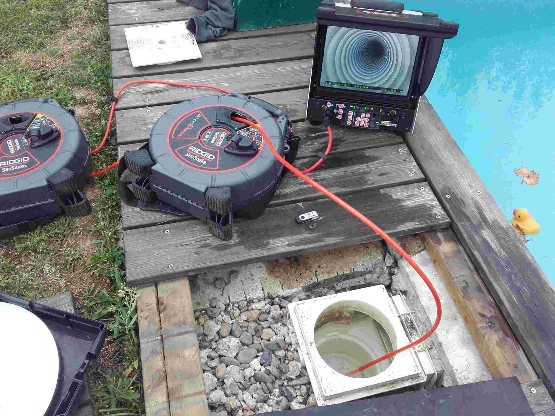 Expertise détection de fuites d'eau sur piscine