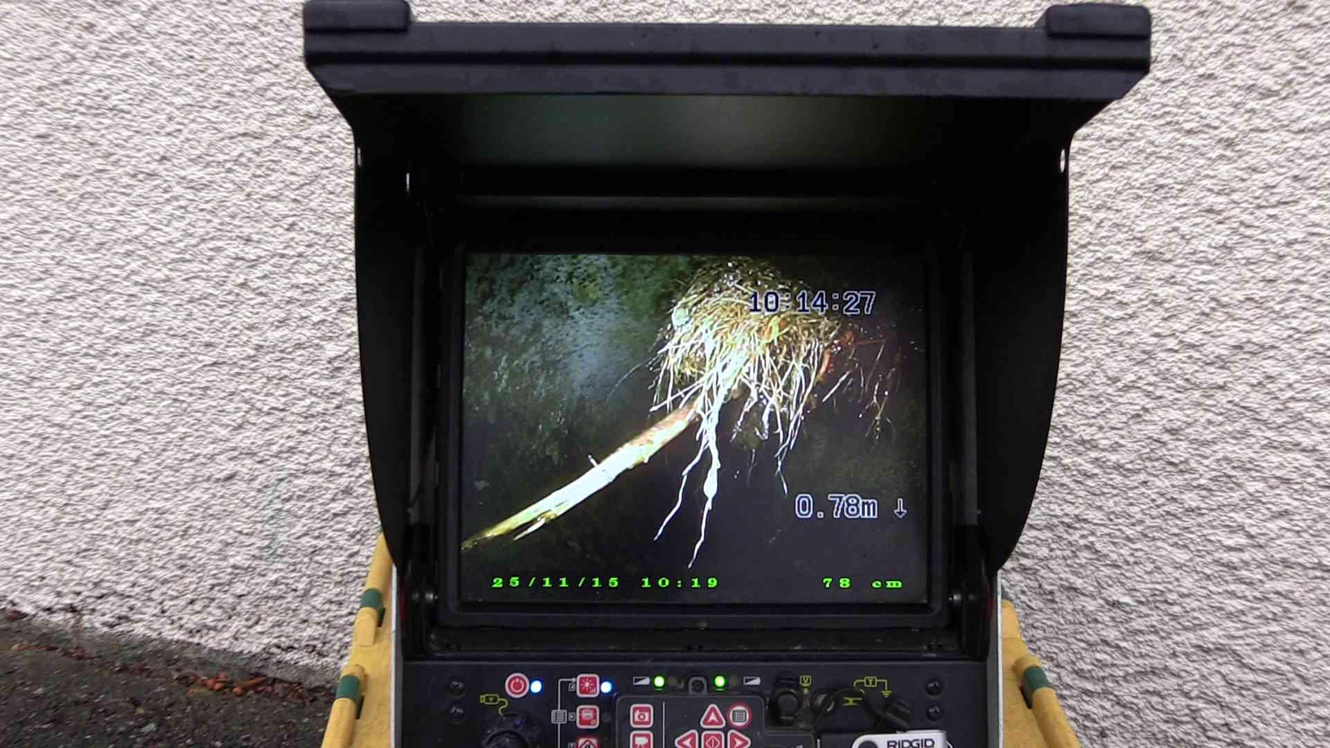 Inspection vidéo de canalisations & réseaux