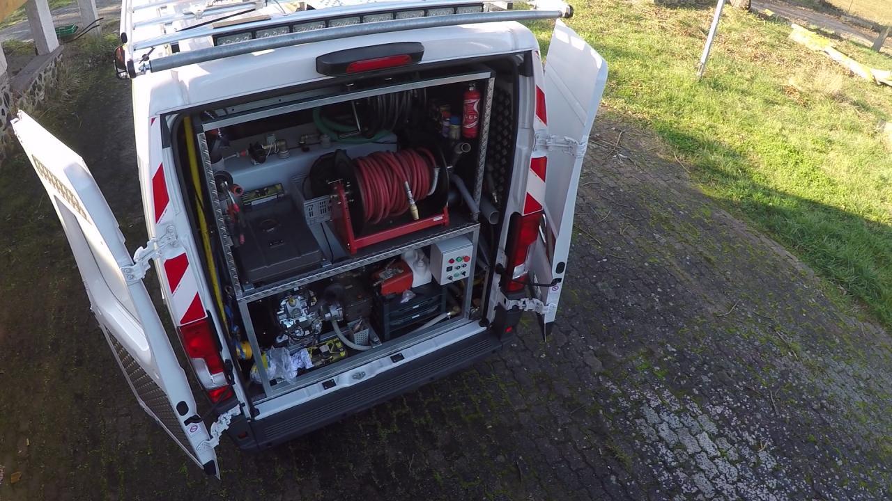 Entreprise Forman - véhicule d'hydrocurage