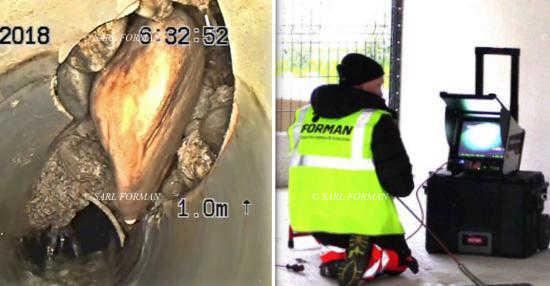 Debouchage et inspection video de canalisation