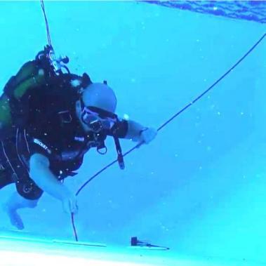 Recherche de fuite sur piscine par entreprise Forman