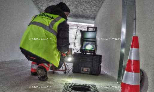 Inspection de canalisation par camera