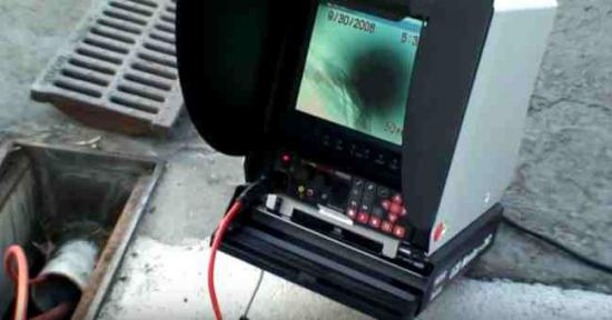 Inspection video de canalisation par camera