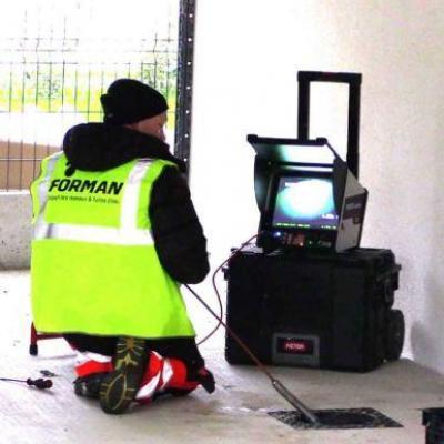 inspection vidéo et détection de réseaux
