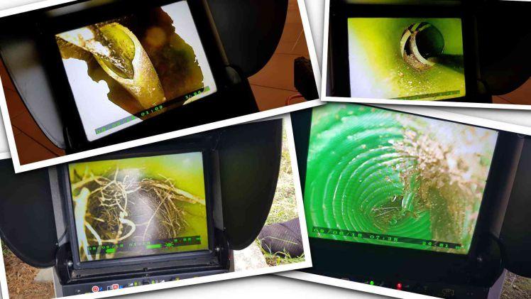 Inspection video fourreau telecom