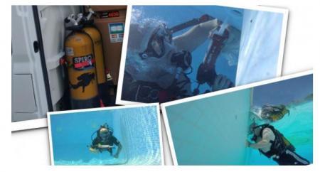 Localisation et reparation fuite piscine
