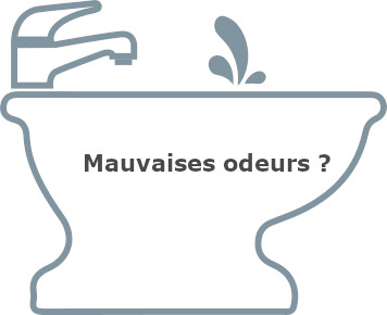Mauvaises odeurs canalisations