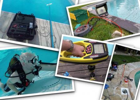 Recherche de fuite piscine par entreprise forman