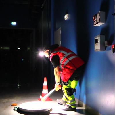 Hydrocurage canalisation sur chantier